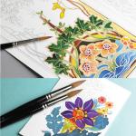 The Pepin Press Colouring Books
