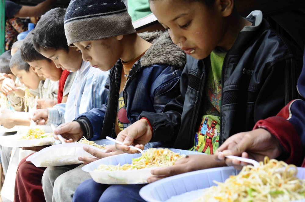 Nepalese Orphans